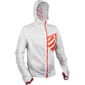 Compressport Trail Hurricane - Chaqueta Running - blanco
